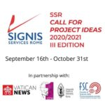 SIGNIS Services Rome launches third Call for Project Ideas for new media and communication centres